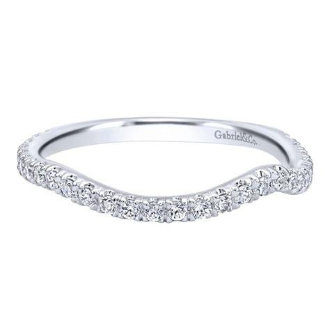 Gabriel & Co Engagement Rings 14k White Gold Diamond