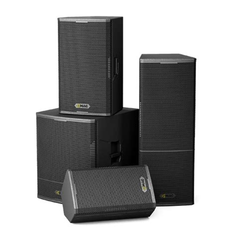 series mag audio installations deliver keeping various created sound fixed professional while mobile power quality into