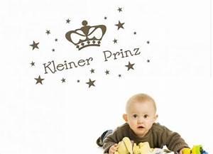 Wandtattoo Kleiner Prinz : wandtattoo kinderzimmer kleiner prinz mit krone ~ A.2002-acura-tl-radio.info Haus und Dekorationen