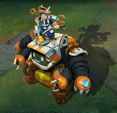 Nunu League Legends Concept Bot Willump Nexus
