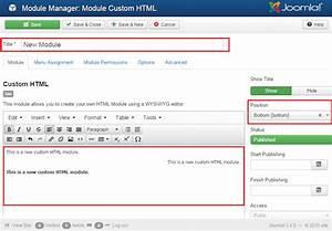joomla 3x how to add custom html module template helpcom With how to add template in joomla