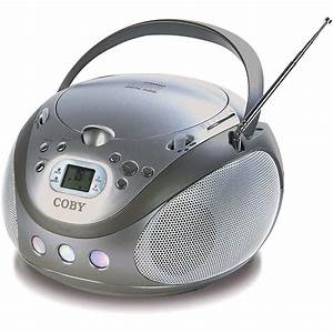 Mobile Cd Player : coby mp cd451 portable stereo mp3 cd player with am fm mpcd451 ~ Jslefanu.com Haus und Dekorationen