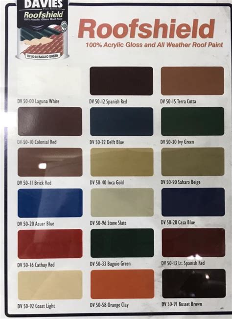 davies paint philippines color chart image collections