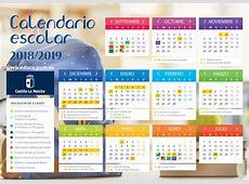Calendario Escolar 20182019 Portal de Educación de la