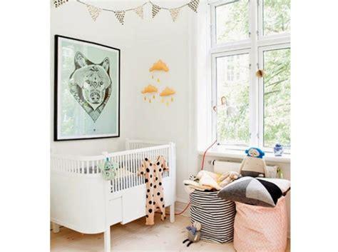 chambre bébé cocktail scandinave idée pour une décoration chambre bébé scandinave