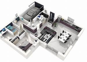 Maison Selene 2 Chambres 3d