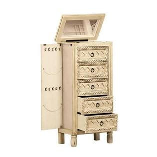 Abby Jewelry Armoire by Antiqued Jewelry Armoire Charming Artisan Style Box