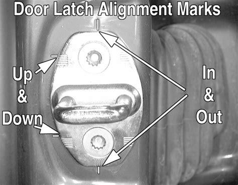 repair guides exterior doors autozonecom