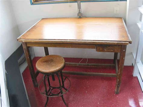 antique drafting table for sale vintage hamilton drafting table the clayton design