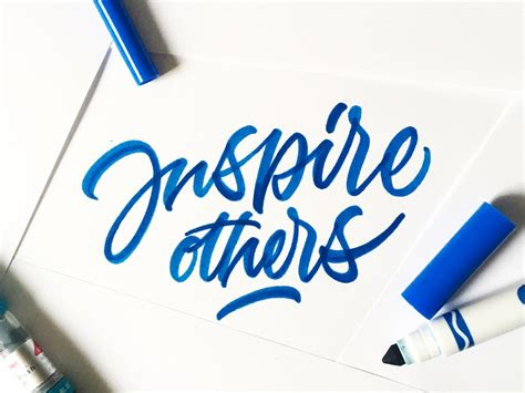Inspire Others by dr axes on Dribbble
