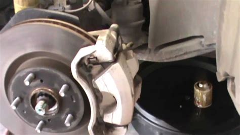 toyota camry front disc brake replacement youtube