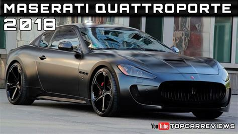 2018 Maserati Quattroporte Review Rendered Price Specs