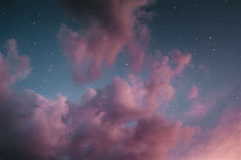 pink clouds on Tumblr