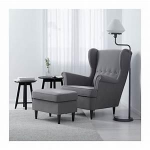 Ikea Ohrensessel Strandmon : strandmon footstool nordvalla dark grey ikea ~ Markanthonyermac.com Haus und Dekorationen