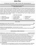 Litigation Lawyer Resume Template Premium Resume Samples Example Using Professional Resume Templates From My Ready Made Resume Builder Resume Samples Employment Law Attorney Resume Attorney Resume Example Sample Resume Attorney Resumes Attorney Resume