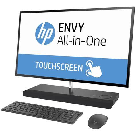 pc de bureau tout en un tactile pc de bureau tout en un hp envy 27 b101nk tactile i7 7è