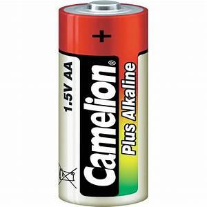 AA battery Alkali-manganese Camelion Plus LR06 2800 mAh ...