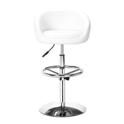 comfortable bar stool z011 in white bar stools