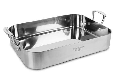 pan roasting stainless steel cuisinart rack pro multiclad inch cooking 16x13 cutleryandmore