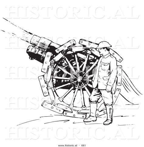 gan siege historical vector illustration of a retro navy soldier