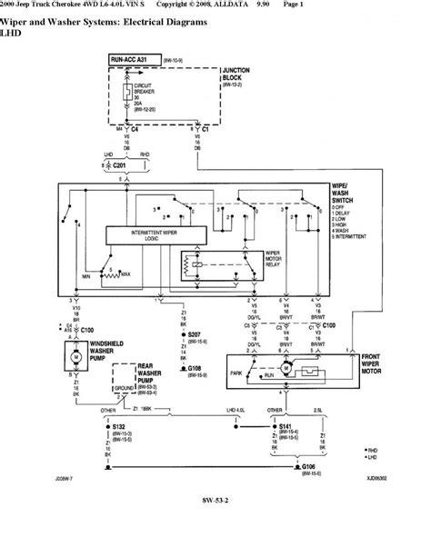 Xj6 Wiper Wiring Diagram by Wrg 2228 Xj6 Wiper Wiring Diagram