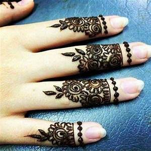 simple arabic finger mehndi designs latest finger mehndi ...