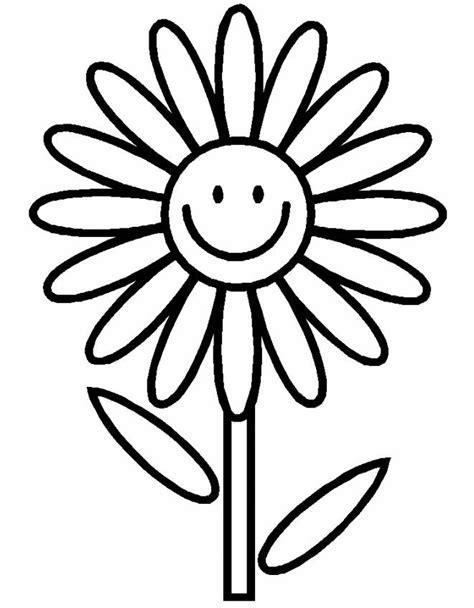 disegno  la margherita felice da colorare  bambini disegnidacolorareonlinecom