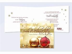 Text Für Weihnachtskarten Geschäftlich : weihnachtskarten gesch ftlich firmen mit logo gestalten ~ Frokenaadalensverden.com Haus und Dekorationen