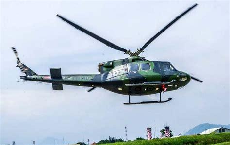 foto helikopter bell ep milik ptdi  canggih