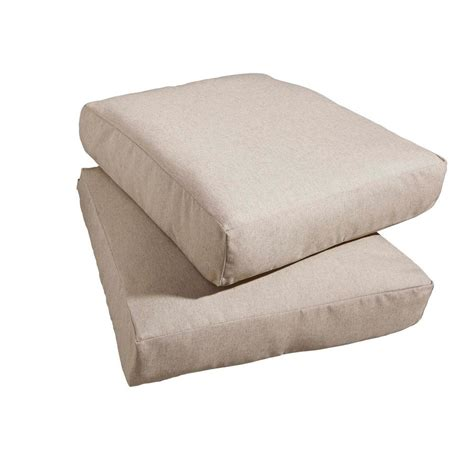 Hton Bay Patio Furniture Replacement Cushions by Hton Bay Marshall Replacement Outdoor Chair Cushion 2