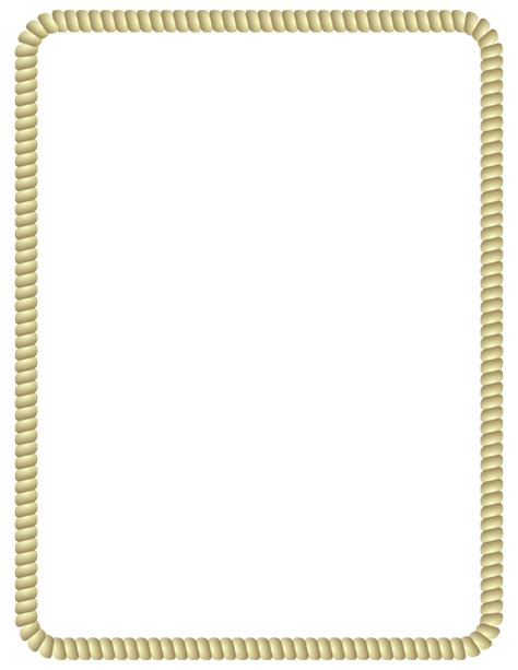 Rope Border Clipart Pin Rope Border Clip Vector Royalty Free On