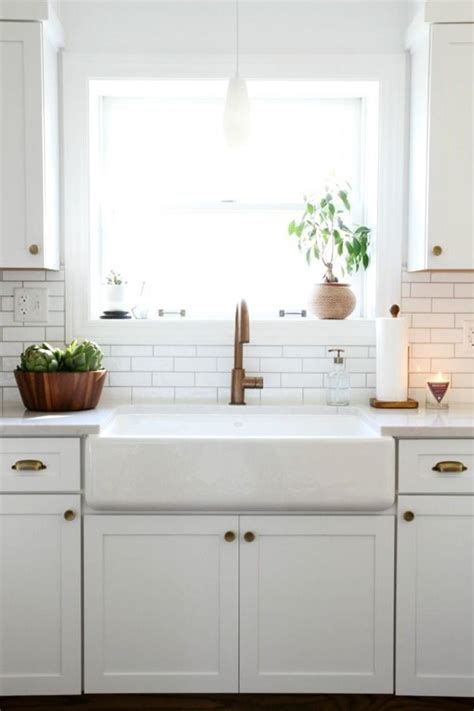 kitchen sink and faucet ideas 29 modern farmhouse kitchen sinks design ideas 8432