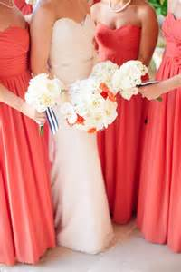 coral colored bridesmaid dresses 25 best ideas about coral bridesmaid dresses on coral dress for wedding coral