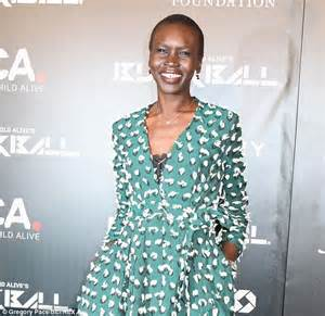 alek wek has a baby use vaseline to make your skin shine or to boost your