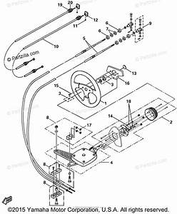 Yamaha Boat 2004 Oem Parts Diagram For Steering Cables