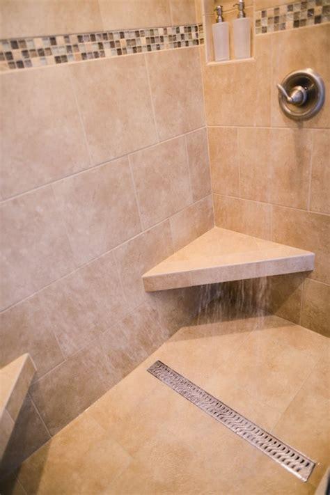 linear shower drain  modern  elegant solution