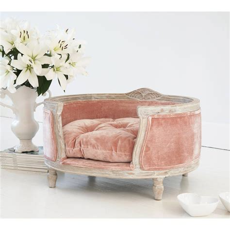 posh pooch pink pet bed  french bedroom company