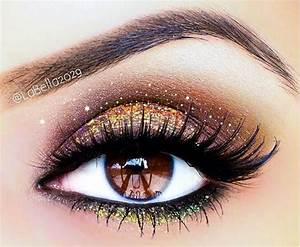 The gallery for --> Golden Smokey Eye Makeup