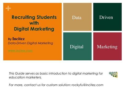 digital marketing for education 2 min guide on digital marketing for education marketers