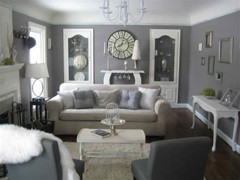 Decorating With Gray Furniture, Grey And Cream Living Room