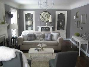 Decorating with gray furniture grey and cream living room for Grey living room