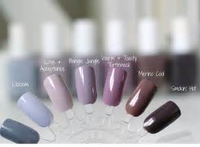 Winter Nail Polish Colors