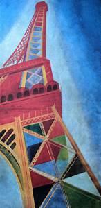 Affiche Robert Delaunay   La Tour Eiffel  1926