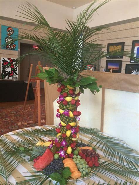 pineapple palm tree centerpiece party planning pinterest palms trees  pineapple palm tree