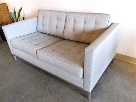 Florence Knoll Settee by Metro Modern Florence Knoll Settee