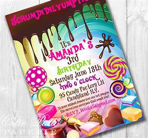 willy wonka birthday invitations willy wonka invite wonka With willy wonka invitations templates