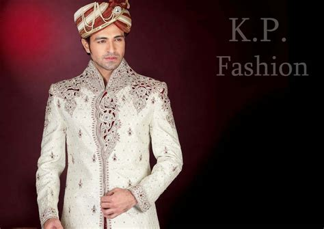 Wedding Wear Ethnic Sherwani For Men In India By K. P