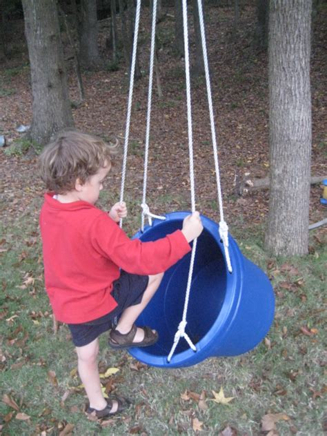 diy garden swings      kids