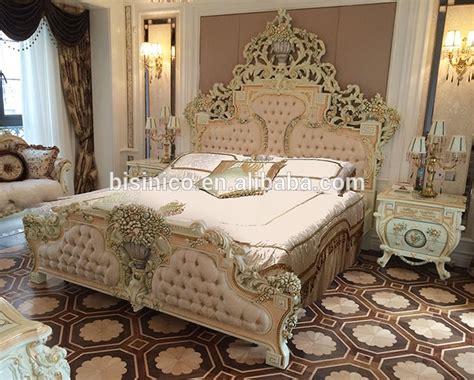 Italian  French Rococo Luxury Bedroom Furniture,dubai