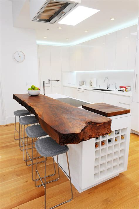 kitchen design idea  unconventional materials